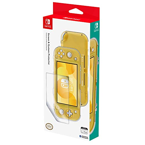 Nintendo Switch Lite Screen & System Protector Set by HORI - Officially Licensed by Nintendo
