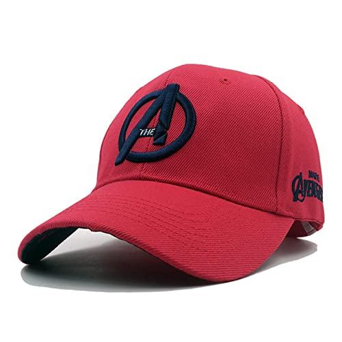 Avengers Baseball Cap, Bambini Cappello da Sole Regolabile Cotone Snapback Cappellino da Baseball, Taglia Unica Unisex-Adulto C