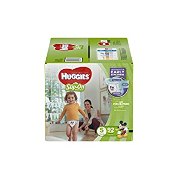 Huggies Little Movers Slip-On Diapers Size 5 92 Count