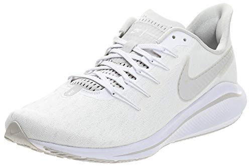 Nike Men's Air Zoom Vomero 14 Track & Field Shoes, Multicolour (White/Vast Grey 000), 7.5 UK