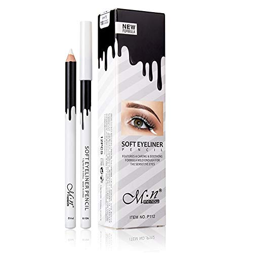 (30% OFF) 12-Pieces White Eyeliner Pencils $6.98 – Coupon Code