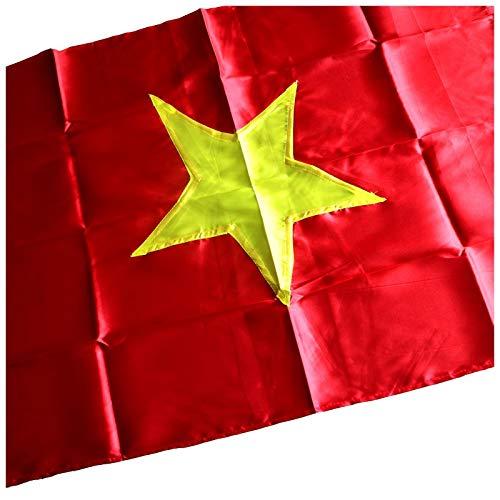 Terrapin Trading Ltd Vietnamese vlaggen-communistische ster van de handel Fair Large Vietnam - 2 maten