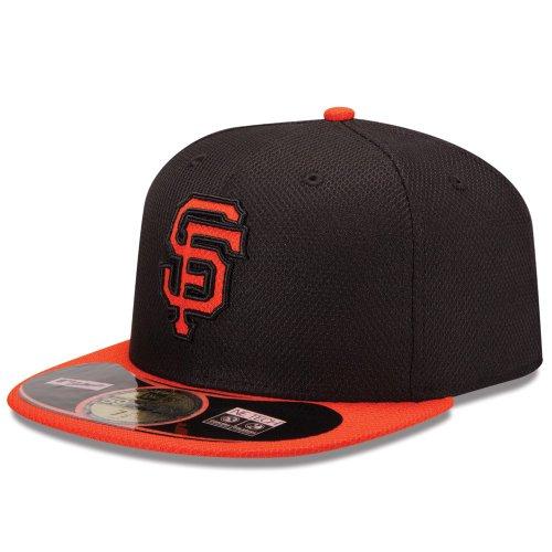 New Era MLB Diamond Era SF Giants 59Fifty Fitted Gorra de béisbol, Hombre, Negro-Team, 714