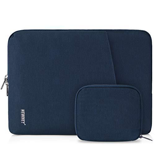 NEWHEY Laptophülle 14 Zoll Stoßfest Laptop Notebook Tasche Hülle Wasserdicht Schutzhülle Sleeve Case Kompatibel 13-14 mit Klein Fall Dunkelblau