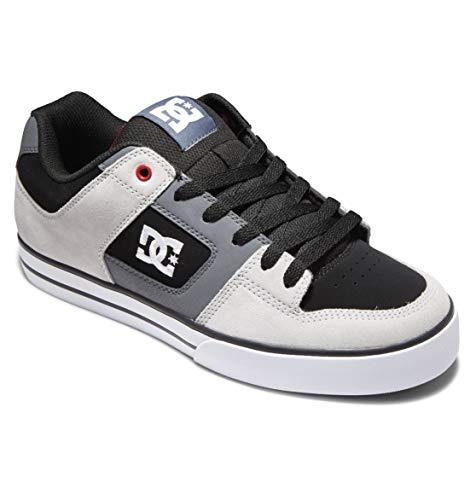 DC Shoes Pure - Leather Shoes - Lederschuhe - Männer - EU 44 - Schwarz