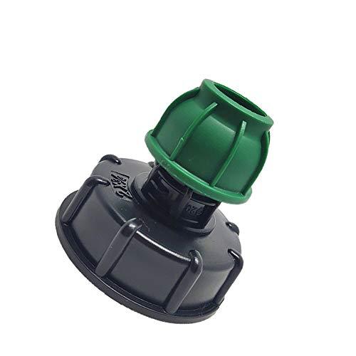 Vogueing Tool Adaptador de manguera de agua de plástico, adaptador de manguera de agua de plástico S60X6 a MDPE recto, accesorio de tubo (S60X6 a 32mm)