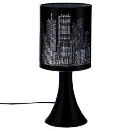 Lampe touch New York - Noir