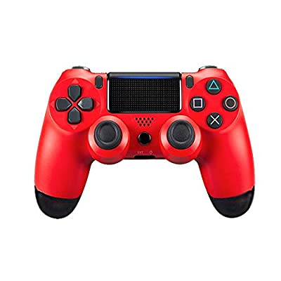 Wireless Bluetooth gamepad dual-vibration joystick game controller with 3.5mm audio port for PS4 controller PlayStation 4
