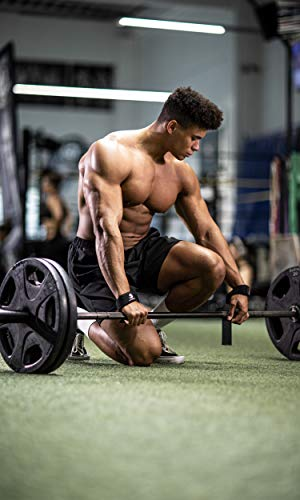 Profi Zughilfen (gepolstert) für Krafttraining, Bodybuilding, Gewichtheben & Fitness – für Damen und Herren – von Fitgriff - 7