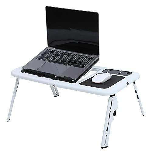 Hengdeqiangk Cama de Mesa Plegable portátil Ajustable Escritorio del portátil de la computadora portátil (Type : Def)