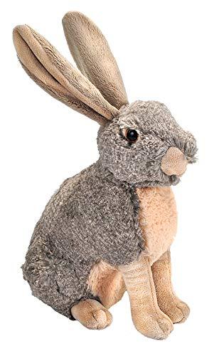Wild Republic Hare Plush, Stuffed Animal, Plush Toy, Kids Gifts, Cuddlekins, 12 Inches
