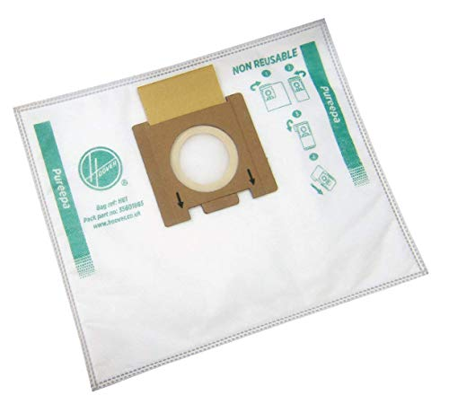 Hoover 35601865 H81-Hoover Staubsaugerbeutel für Epa, 3 Liter, Papier, 4er Pack