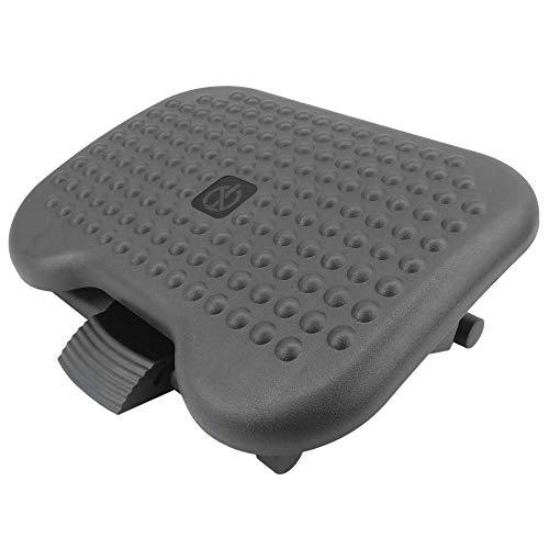 PrimeMatik - Reposapiés con Plataforma Ajustable de plástico 460 x 340 mm 3 Niveles