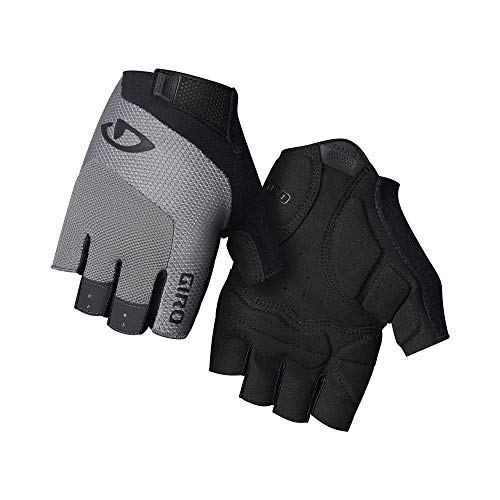 Giro Unisex– Erwachsene Bravo Gel Rennrad|Triathlon/Aero|E-Bike|Cyclocross|City/Urban|Freizeit Handschuhe, Charcoal, XXL