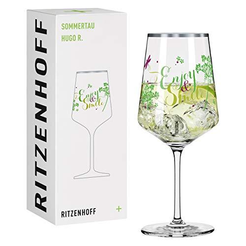 RITZENHOFF 2938028 Sommerertau #3 - Vaso de aperitivo (cristal, 544 ml)