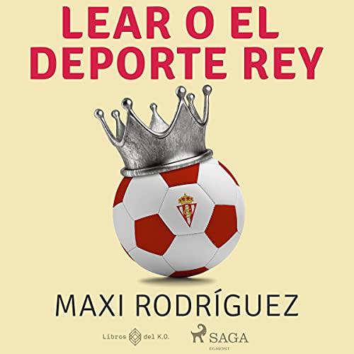 Diseño de la portada del título Lear o el deporte rey