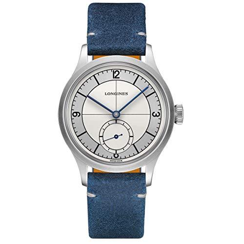 Longines orologio The Longines Heritage Classic 38.5mm Argento Acciaio uomo automatico L2.828.4.73.2