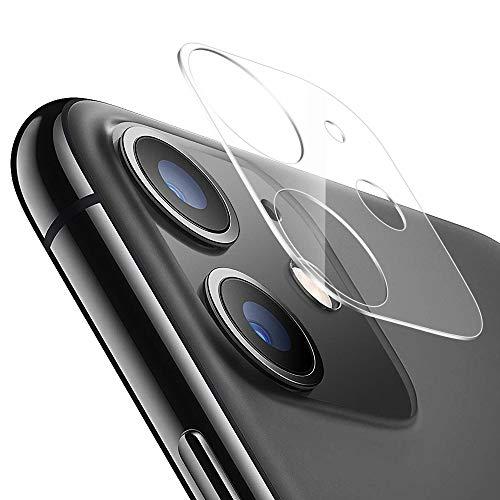 Echden Handy Kamera Protector Kompatibel mit iPhone 11 Pro/11 Pro Max Kamera Panzerglas[2 Pack] Kameraschutz Linse Schutzfolie 3D 3D Vollständige Abdeckung 9H Kamera objektiv Glas HD Kameraschutz