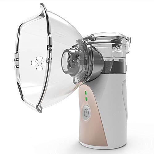 TONINI Tragbare Vaporizer, Ultraschallvernebler Handheld-Sprüher kühlen Nebel Dampf-Mesh-Luftbefeuchter for Reisen und den täglichen Gebrauch