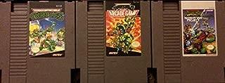 Teenage Mutant Ninja Turtles (TMNT) NES Trilogy Collection: Teenage Mutant Ninja Turtles, TMNT II (2): The Arcade Game, TMNT III (3): The Manhattan Project