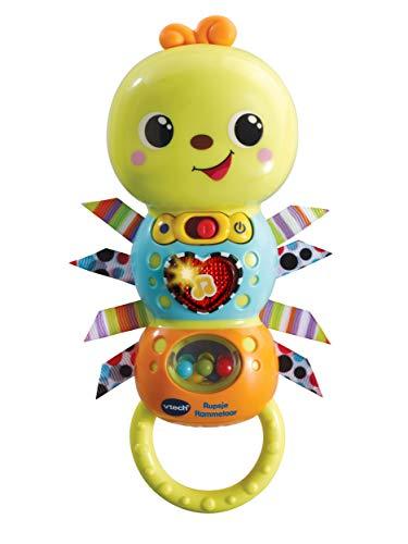 VTech Baby – Rupsje Rammelaar – Volop schud- en speelplezier – Educatief Babyspeelgoed – Stevig en duurzaam design – Leeftijd: 3 – 36 Maanden