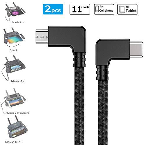 USB-Cable de carga de datos micro para DJI Spark//Mavic Pro//Air Drone Controlador