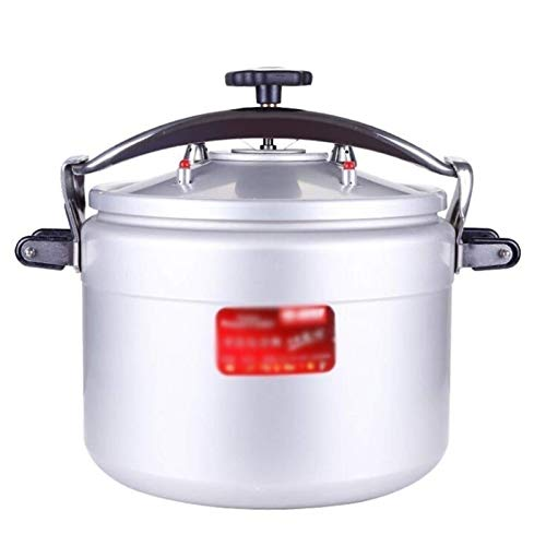 NDYD Commercial Aluminum Pressure Cooker Rice Cooker, Large Capacity Explosion-proof Pressure Cooker Slow Cooker, Thickened Double Bottom Apply For Home Hotel Restaurant Kitchen 15L-50L DSB