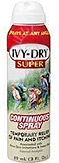 IVY-DRY Super Continuous Spray, 3 oz