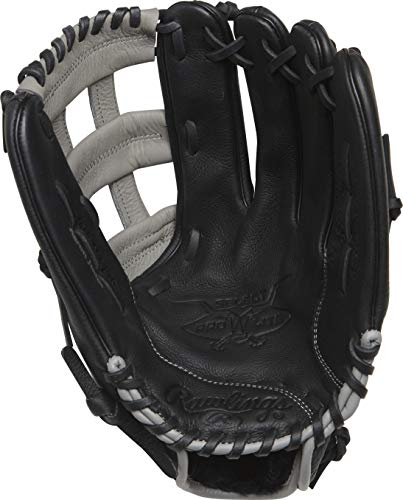Rawlings Select Pro Lite Aaron Judge Model Youth Baseball Glove, 12.5 inch, Black, Right Hand Throw