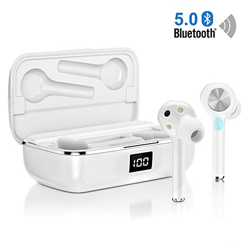 Bluetooth Headphones In Ear, Wireless Bluetooth Earphones Sports True...