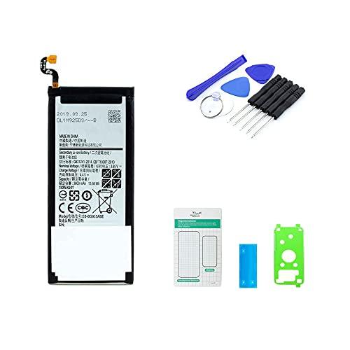 Akku kompatibel mit Samsung Galaxy S7 Edge | 3600 mAh Batterie | 3,85 V | inkl. Reparaturset