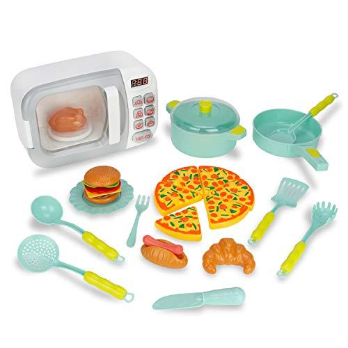 microondas de juguete con sonido de la marca Boley