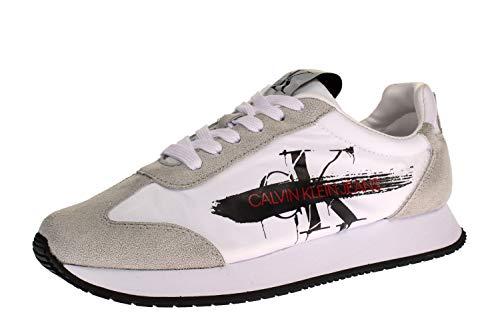 Calvin Klein B4R0873 JEENEY - Damen Schuhe Sneaker - 100-white, Größe:40 EU