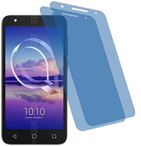 4ProTec I 2X Crystal Clear klar Schutzfolie für Alcatel U5 HD Bildschirmschutzfolie Displayschutzfolie Schutzhülle Bildschirmschutz Bildschirmfolie Folie