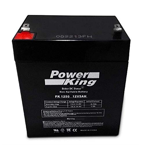 Replacement Battery for Liftmaster 485LM Battery and 41A6357-1 (1) Battery Works with Liftmaster 3850, 3850P,D900D Craftsman 41B822 Beiter DC Power