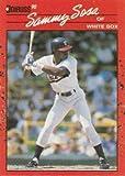 Sammy Sosa 1990 Donruss Rookie Baseball Card #489