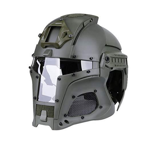 Airsoft Taktisch Paintball Helm Maske Draussen Taktische Helm Mit Schutzbrille Army SWAT Shooting Schutz Helm Gefechtshelm für Jagd Militärhelm Schneller/Fast Helme CS PJ Tactical Game Set Ausrüstung