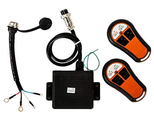 Winchmax Kabellose Seilwinde Fernbedienung 24 V Doppelfernbedienung Wasserdicht Externe Halterung Empfänger