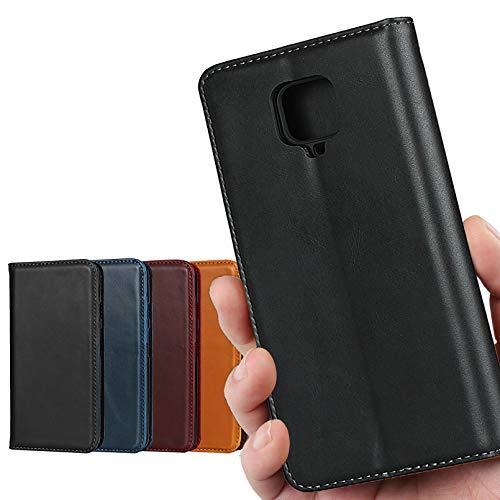Xiaomi Redmi Note 9S ケース 【本革 本皮】 64GB / 128GB SIMフリー 対応 スマホケース REDMI Note9S 手帳 カバー Note9S ケース カバー 携帯ケース 携帯カバー case 牛革 レザー 内蔵 マグネ