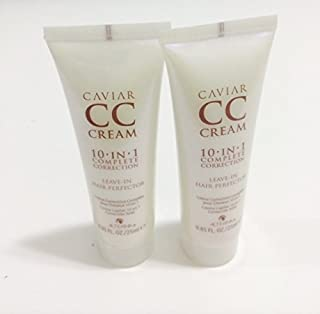 CAVIAR CC Cream 10-in-1 complete correction -Leave in Hair Perfector 2 pieces 0.85oz/each