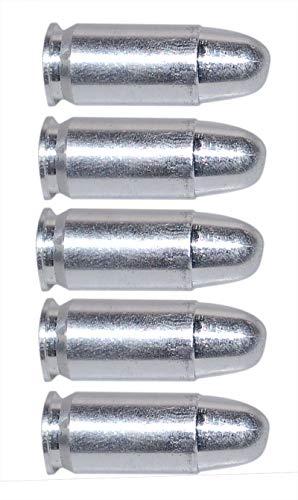 Flachberg Pufferpatrone 45 Pufferpatronen Alu .45 ACP 5 Stück Kaliber 45 (Mod. 3)