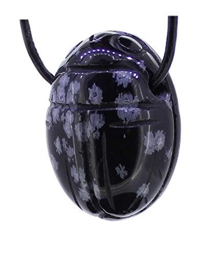 Adelia´s Kettenanhänger Obsidian