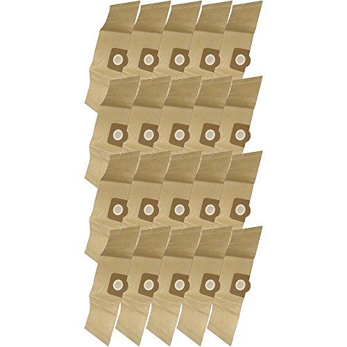20 Industrie- Baustellen- Gewerbe- Heavy Papier Staubsaugerbeutel passend für Kärcher A2604, 6.959-130.0