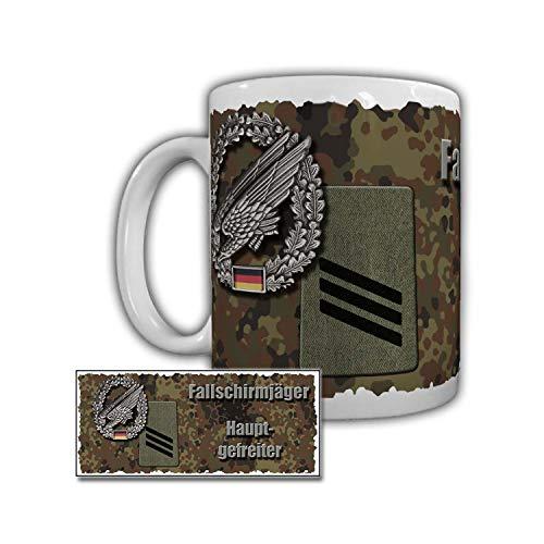 Tasse Fallschirmjäger Hauptgefreiter Fallschirmjägerregiment Bundeswehr #29468