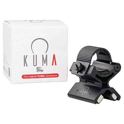 Kavali Concepts Premium Soporte Magnético Neodimio para Linterna Rifle o Escopeta. para Esperas. Montura Linterna Caza para Díametros de 25 a 30 mm Soporta hasta 325 Gramos. Fácil Quita Y Pon