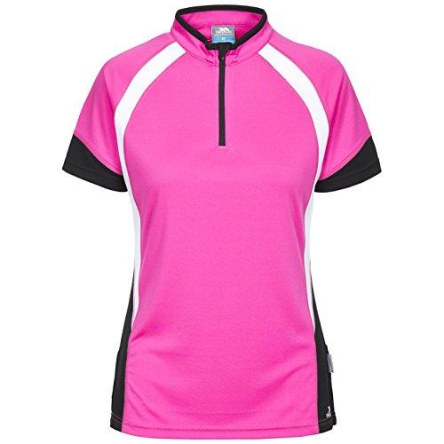 Trespass Damen Harpa Kurzarm Cycling Top (XXS) (Leuchtend Pink)