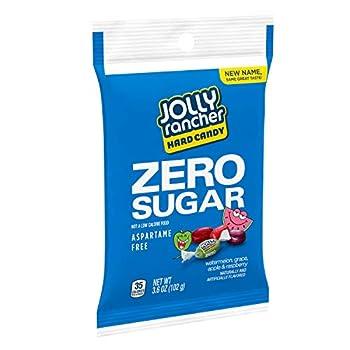 JOLLY RANCHER Sugar Free Hard Candy 3.6 oz bag pack of 13