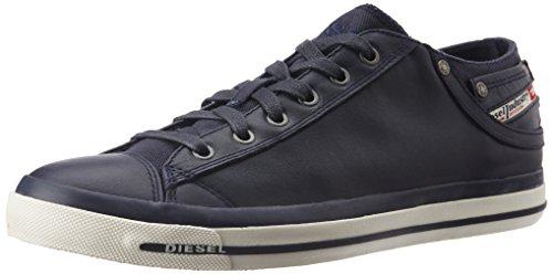 Diesel Herren Magnete Exposure Low I Sneaker Blau (T6065-Blue Nights PR052), 43 EU