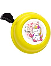 Liix Colour Bell New 2021 Be Happy Unicorn Fietsbel voor kinderen en volwassenen, eenvoudige montage