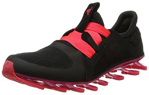 adidas Springblade Nanaya, Scarpe da Corsa Donna, Multicolore Negro Negbas Rosimp Rojimp, 37 1/3 EU